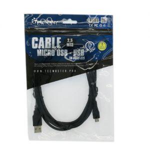 Tecmaster Cable 2,5MTS Micro USB